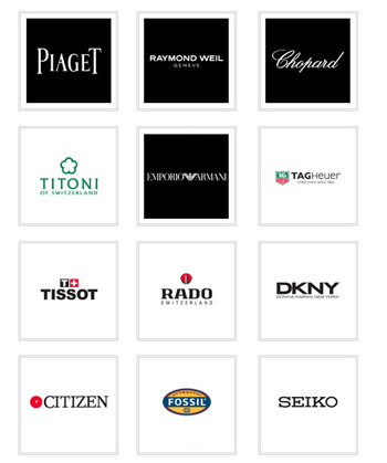 Brands Of Wristwatches Logos